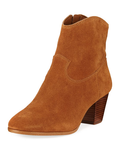 Avery Sport Suede Ankle Boots