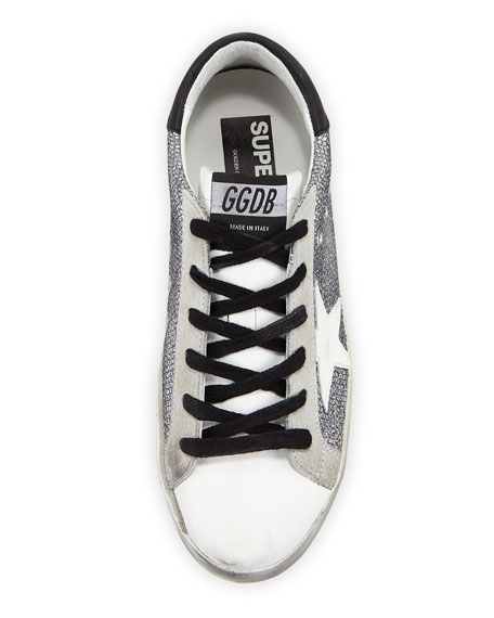 Superstar Sparkle Low-Top Sneakers