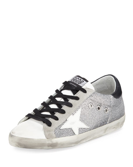 Golden Goose Superstar Sparkle Low-Top Sneakers