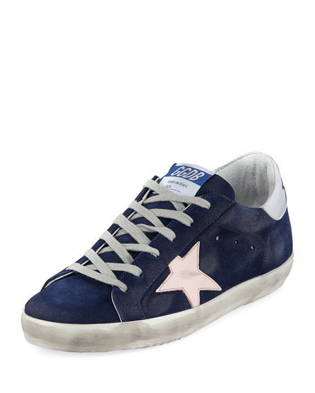 Golden Goose Superstar Suede Low-Top Sneaker
