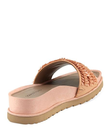 Cava Ornamented Slide Sandals