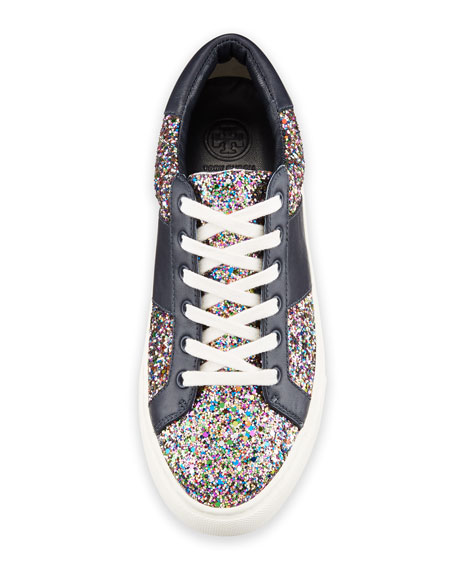 Carter Glitter Low-Top Lace-Up Sneakers