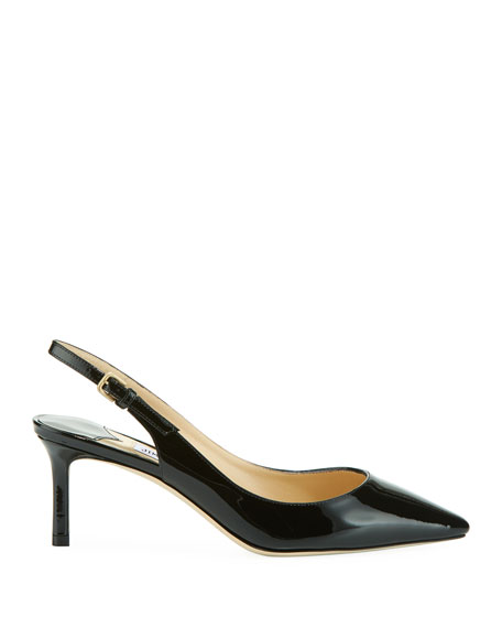 Erin 60mm Patent Leather Slingback Pump