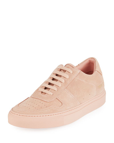 Ball Low-Top Suede Sneakers