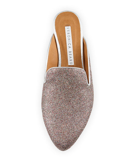 Greyson Glitter Metallic Mule