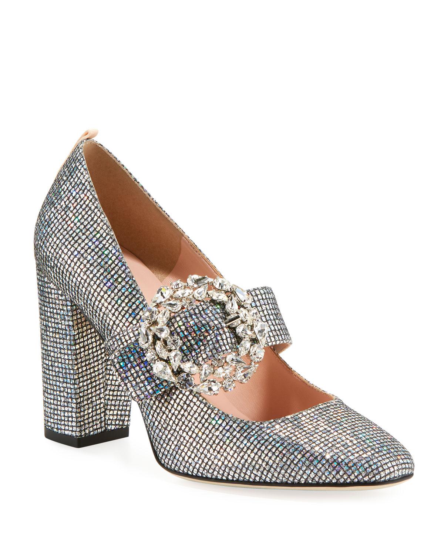4550f56a750 SJP by Sarah Jessica Parker Celine Embellished Sparkle Mary Jane ...