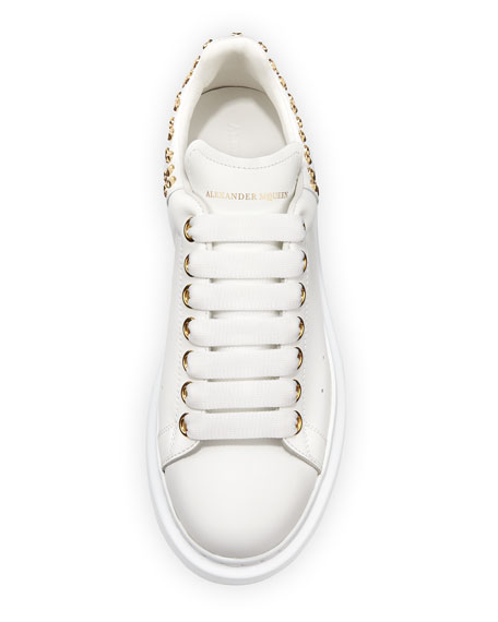 Pelle Studded Low-Top Platform Sneakers
