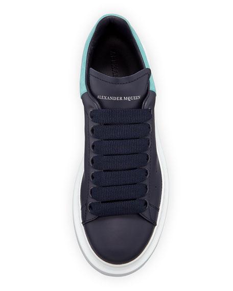 Pelle S. Gomm Calf Platform Low-Top Sneakers