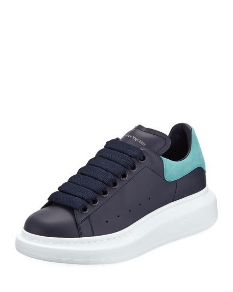 Pelle S. Gomm Calf Platform Low-Top Sneakers
