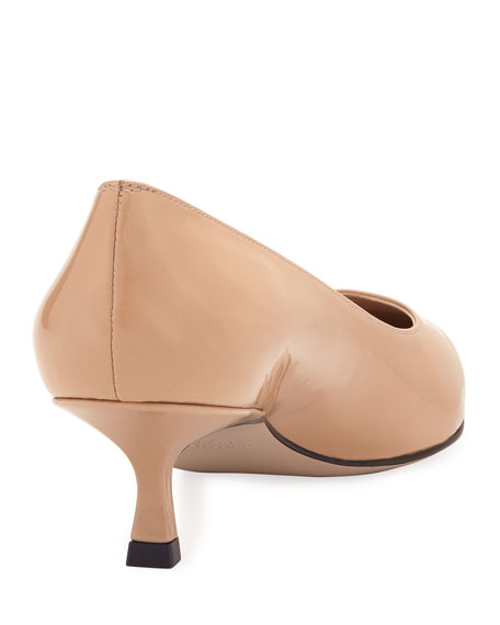 Tippi Patent Pointed Pumps