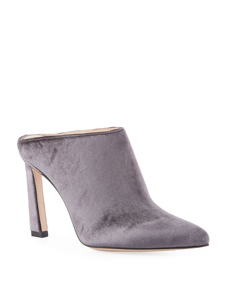 Camila Velvet Slide Mule