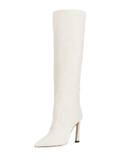 Aces Calf Hair Luxe Knee Boots by Stuart Weitzman
