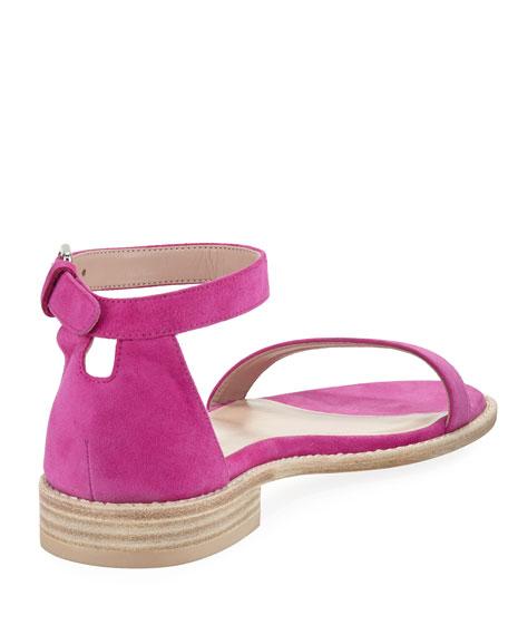 Nudistflat Suede Sandals