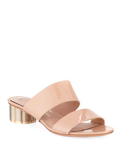 Patent Leather 30mm Sandal