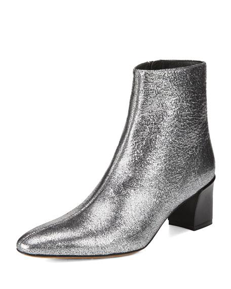 homme / femme de vince chaussons de de de cuir lanica 55 mm métalliques produits différents e62b33