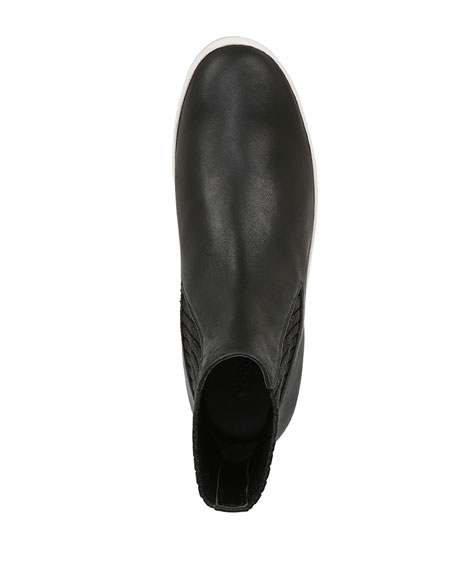 Vidra Platform Leather Sneakers