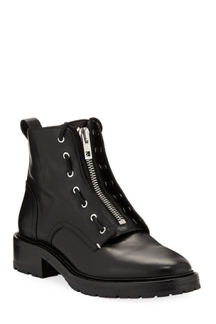 Rag & Bone Cannon Leather Combat Boots