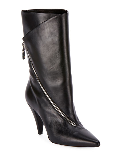 SHOW ASYMMETRIC 80MM BOOTS