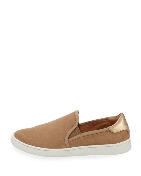Cas Suede Slip-On Sneakers