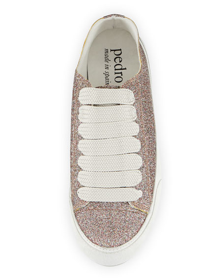 Parson Glitter Low-Top Lace-Up Sneaker