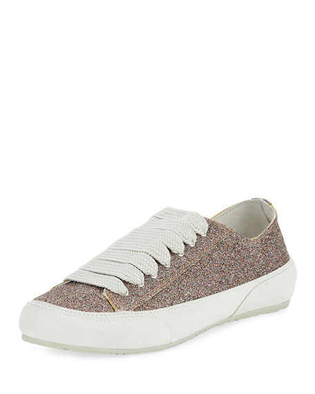Pedro Garcia PARSON GLITTER LOW-TOP LACE-UP SNEAKER