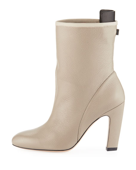 Brooks Slouchy Leather Bootie