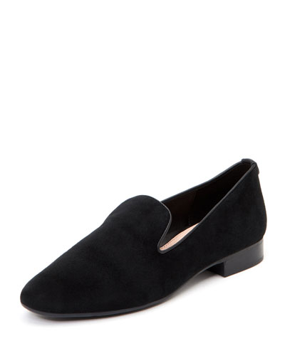 Bryanna Flat Suede Arch-Support Loafers