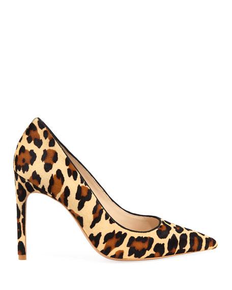 Rio Leopard Animal-Print High-Heel Pumps