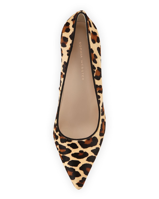 9e9fc7f4584f Rio Leopard Animal-Print High-Heel Pumps
