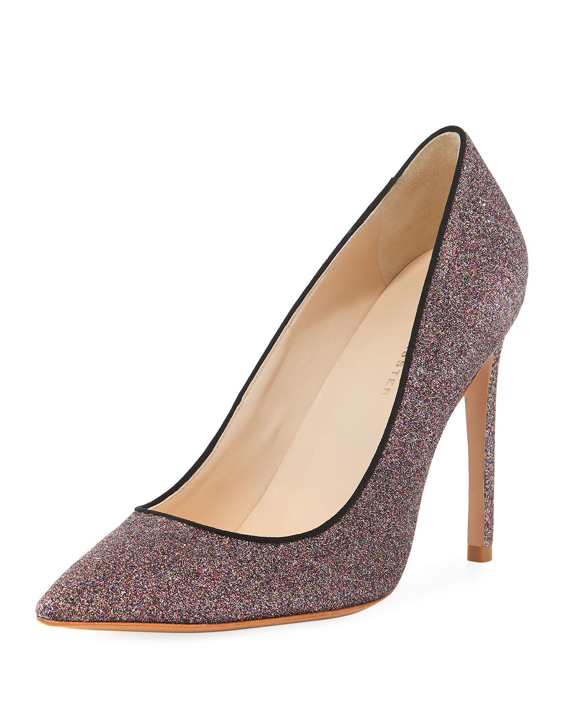 c1a4973499a Sophia Webster Rio Fine Glitter High-Heel Pumps