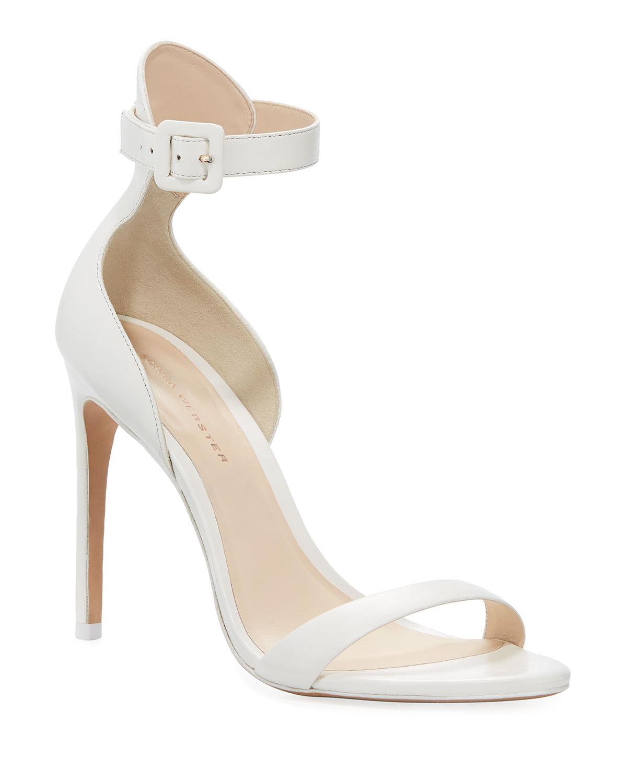 b978f596126d Sophia Webster Nicole Calf Ankle-Wrap Sandal