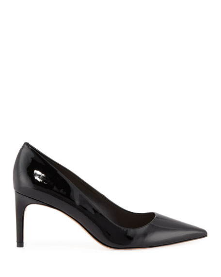 Rio Mid-Heel Patent Leather Pumps