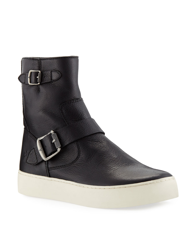 27590893217b Frye Lena Engineer Bootie Sneakers