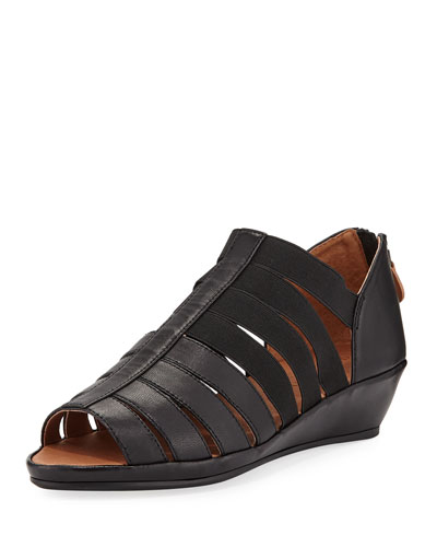 Lana Caged Leather Sandals