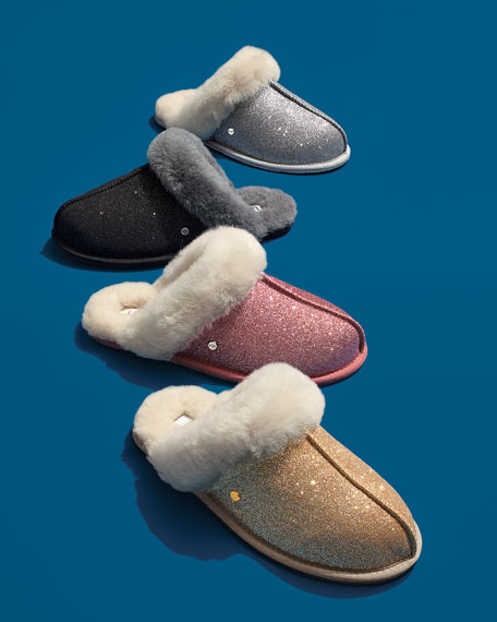 Scuffette II Sparkle Slippers