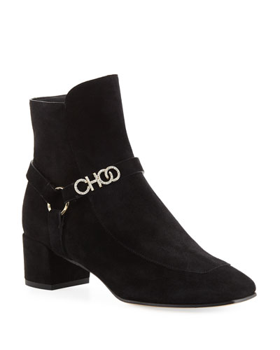 Mailin Suede 40mm Booties