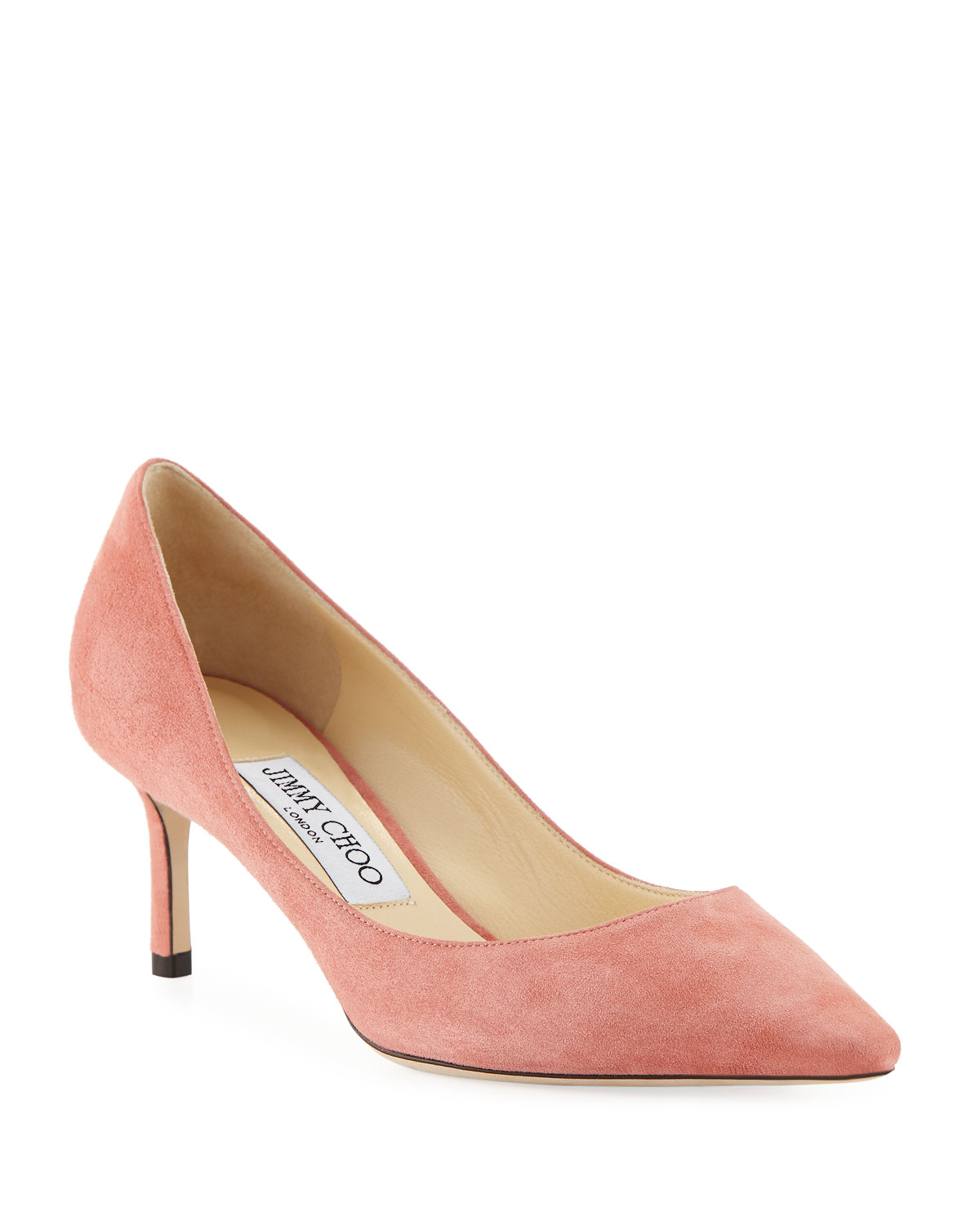 8c28667a0a8 Jimmy Choo Romy 60mm Suede Pumps