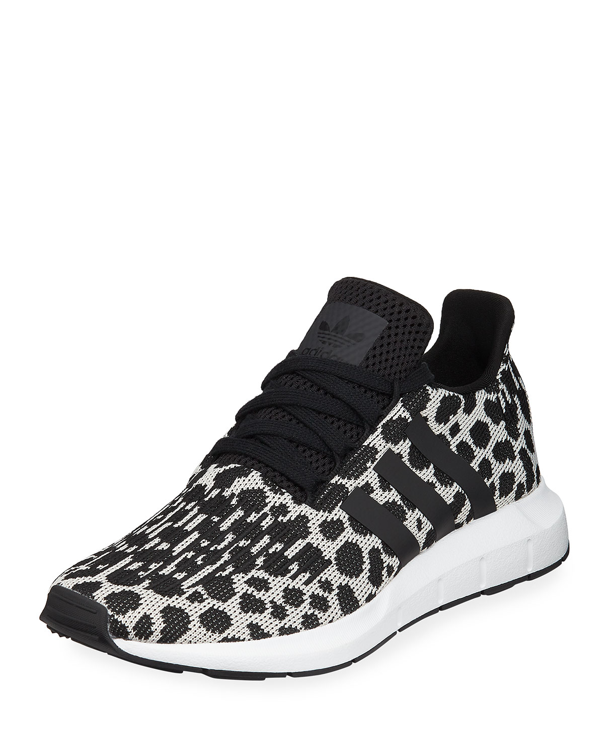 8366772928f58 Adidas Swift Run Cheetah-Print Trainer Sneakers