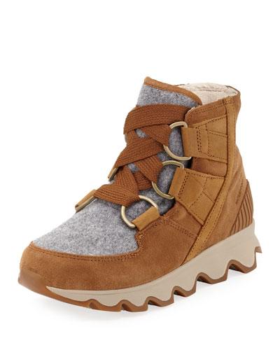 Kinetic Short Waterproof Suede/Felt Hiker Boots
