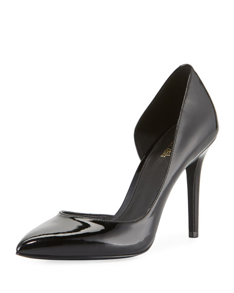 Claire Patent Leather d'Orsay Pumps