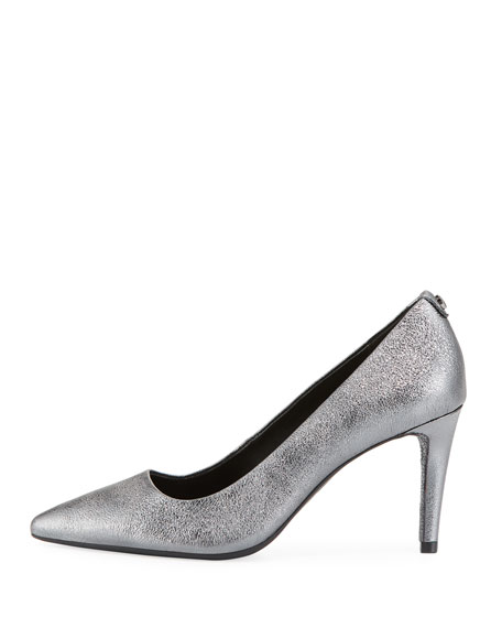 Dorothy Flex Metallic Leather Pumps