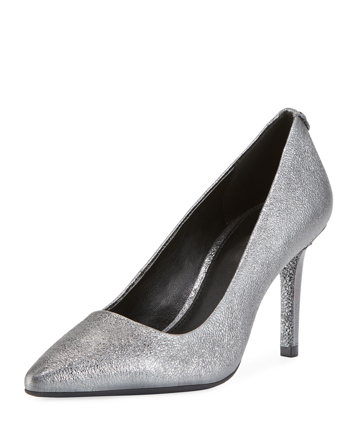 335b022b8a MICHAEL Michael Kors Dorothy Flex Metallic Leather Pumps | Neiman Marcus