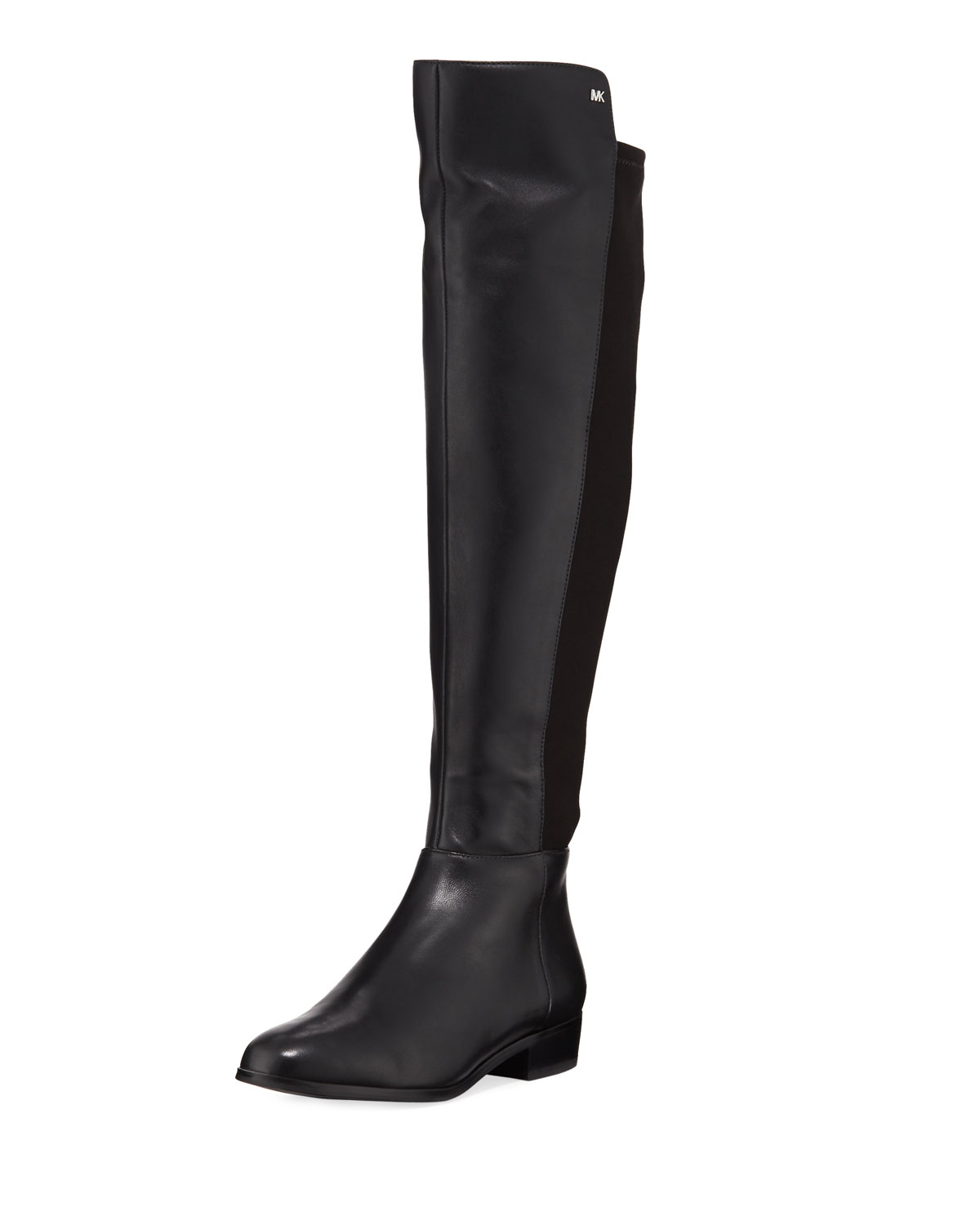 27629e23ddfb MICHAEL Michael KorsBromley Sensitive Stretch Napa Flat Riding Boots