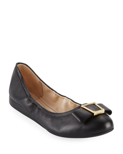 Emory Bow Ballet Flats