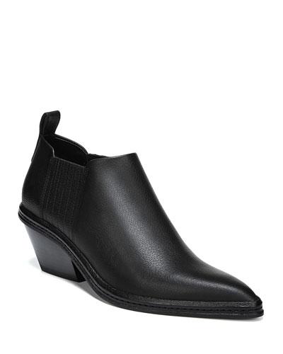 Farly Water-Resistant Block Heel Booties