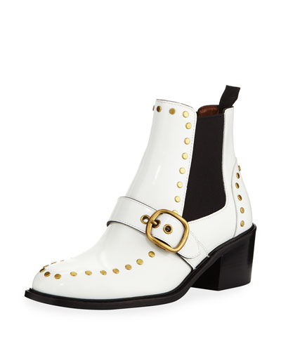 Nora Chelsea Boots with Studs