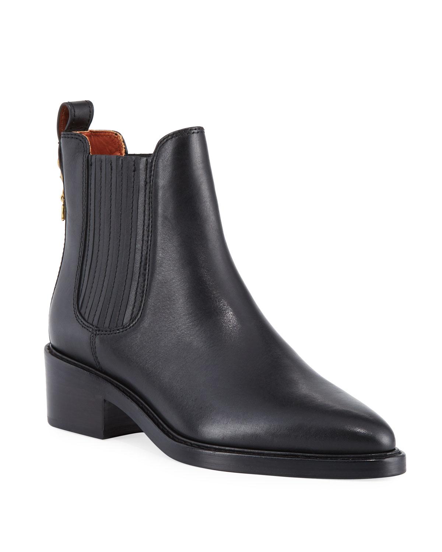 9cf0b0c95b901 Coach Bowery Calf Chelsea Boots