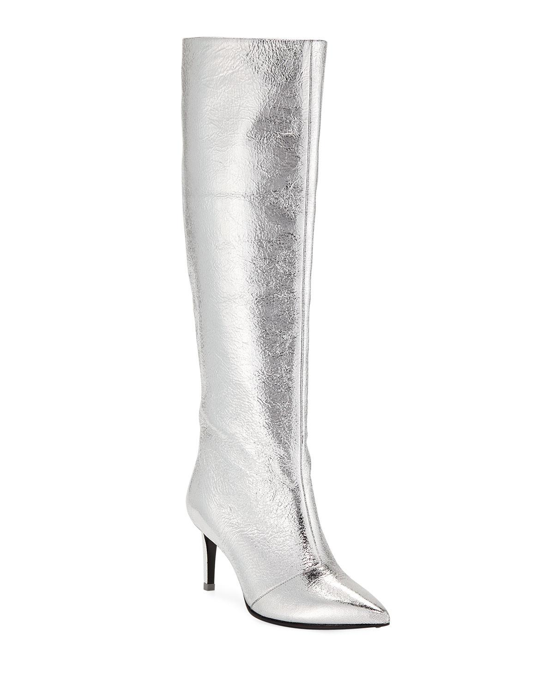4833ede152b Rag   Bone Beha Metallic Knee Boots