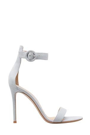 Gianvito Rossi Portofino Suede 105mm Sandals