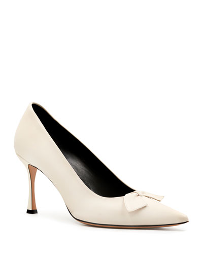 3ddf729146d THE ROW Camil Suede Slingback Pump from Neiman Marcus - Styhunt